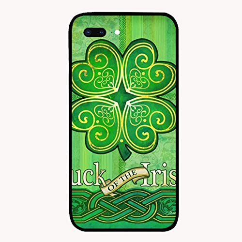 iPhone 7 Plus Case, Slim Shockproof Luck of Irish Cover Case Compatible with iPhone 7 Plus 5.5 inch]()