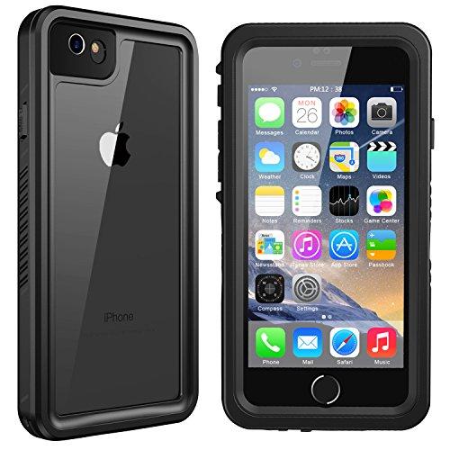 iPhone 6/6s Waterproof Case, Singdo Exclusive Slim Full Body Cover Built in Screen Protector Shockproof Snowproof IP68 Underwater Waterproof Case for iPhone 6/6s (4.7inch)