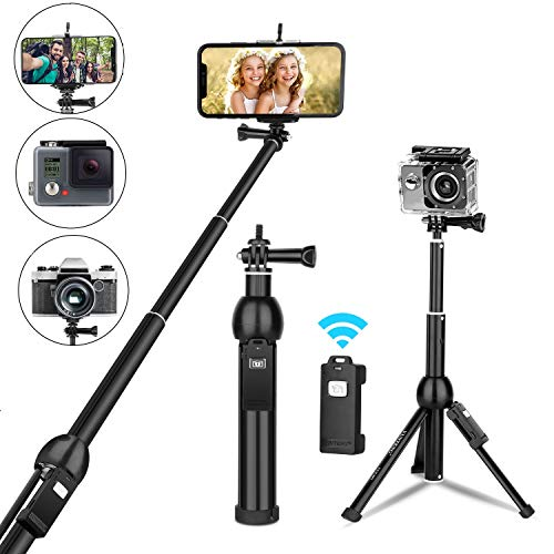 Selfie Stick, All in one Portable 45 Inch Aluminum Alloy Phone...