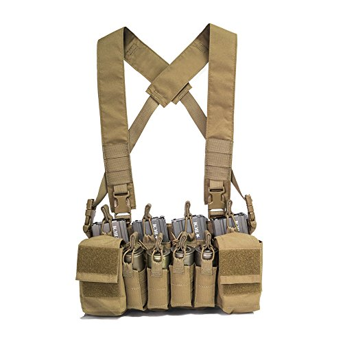 Haley Strategic Partners Disruptive Environments D3CRX Tactical Assault Chest Rig (Coyote Brown)
