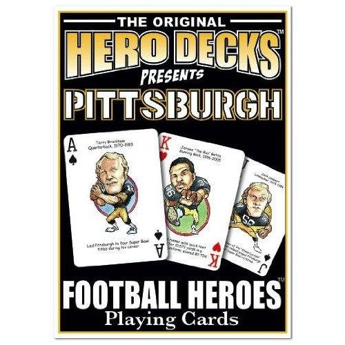 Football Heroes Playing Cards - Pittsburgh