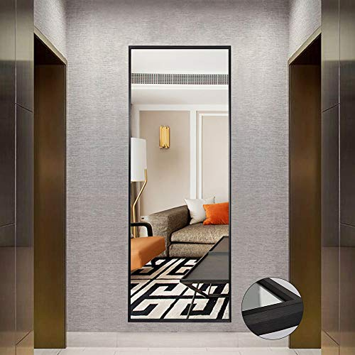 NeuType Full Length Mirror Standing Hanging or Leaning Against Wall, Large Rectangle - Bathroom Rectangular Freestanding Mirrors