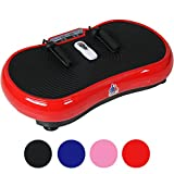 Gym Master Slim Crazy Fit Vibration Plate With Silent Drive Motor - For Weight Loss & Body Toning...
