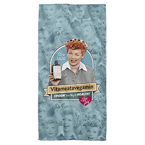 Trevco I Love Lucy Vitameatavegamin Towel (30x60) ()