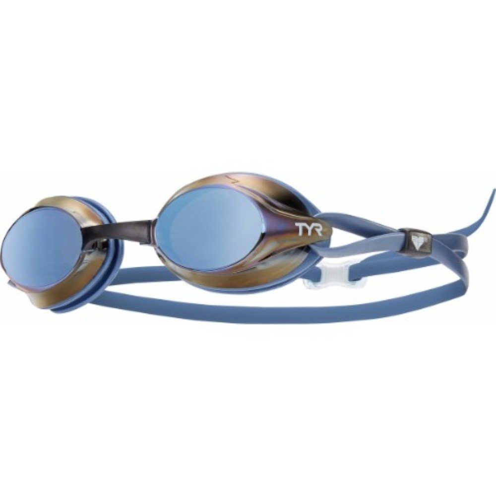 TYR Velocity Racing Metallized Goggle