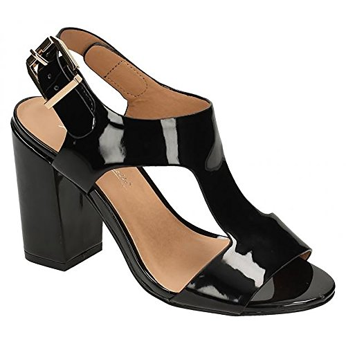 Michelle Anne Noir Chaussures Femme à boucle B0qSHw0