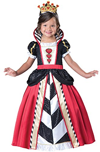 Queen Of Hearts Halloween Costume Toddler (InCharacter Queen of Hearts Toddler Costume)