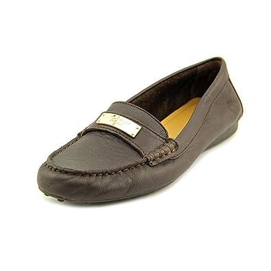 Womens Shoes COACH Fredrica Chestnut Pebble Grain Leather