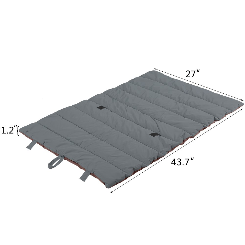 Waterproof Pet Bed Mats Cover for Cat & Dog Outdoor Cooling Brown Large by PUPTECK (Image #2)