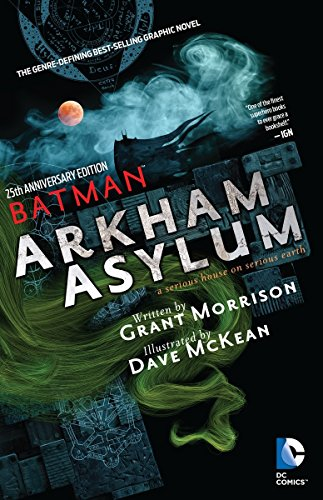 Batman: Arkham Asylum 25th Anniversary (Joke Comic Killing)