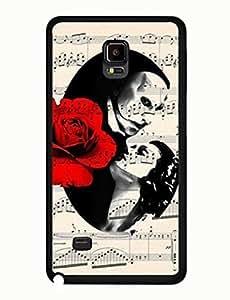 The Phantom Of The Opera Graphic Geometric Theme Musical Samsung Galaxy Note 4 Hard Plastic Case yiuning's case