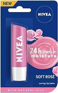Nivea Lip Soft Rose Blister Pack