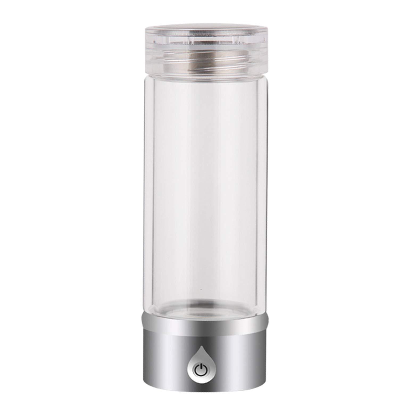 100%本物保証! 電解水素水マグ USB Silver ポータブルホーム負イオン品質健康スマート充電ガラスギフトやかんアルカリ酸素発生器350ml,Silver Silver 電解水素水マグ B07GCPTXX9 B07GCPTXX9, Shine Mart(シャインマート):95eea9b1 --- a0267596.xsph.ru