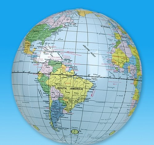 16'' GLOBE INFLATE, Case of 144 by DollarItemDirect