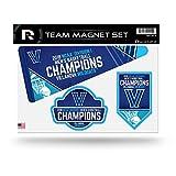 NCAA Villanova Wildcats 2018 Men's National Basketball Champions Die Cut Team Magnet Set Sheet