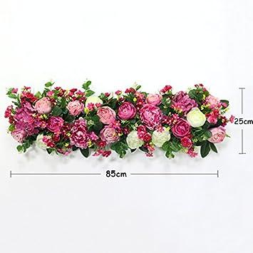 Zttlol Plant Simulation Blume Blumen Linie Hochzeit Anordnung Wand