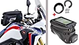 Givi Tanklock Combo Kit - XS320 Xstream Expandable Tank Bag & BF25 Tank Ring Combo Kit for Honda CRF1000L Africa Twin