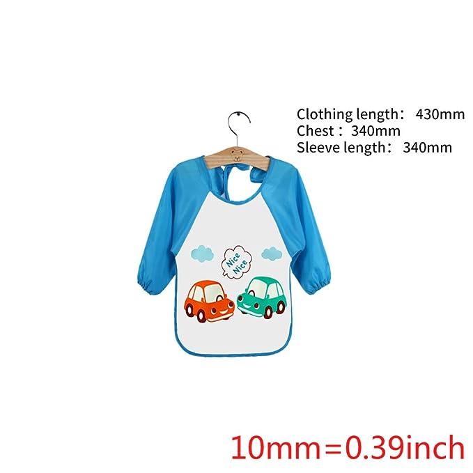 WuLi77 - Babero impermeable de algodón para bebés y niños 3 ...