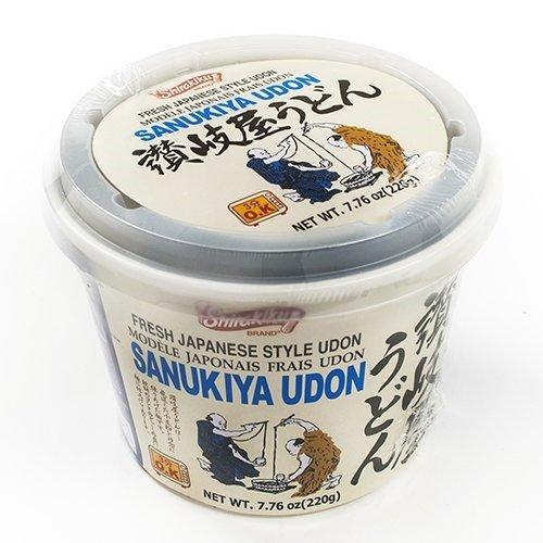 Shirakiku Instant Noodle Udon (Sanukiya Udon) Soup in Cup (7.76 ounce)