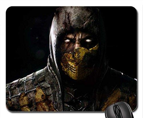 Mortal Kombat X Scorpion Mouse Pad, Mousepad (10.2 x 8.3 x 0.12 inches)