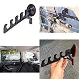 A Team Products Suction Cup Fishing Rod Racks/Holders for Car/Truck/SUV – Easy Install – Keeps Your Fishing Poles Safe (1 Pair)