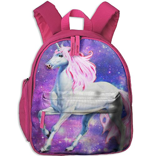 Unicorn Kid School Bag For 3-6 Years Old Child's ShoulderBookbag Pink For Boys And Girls