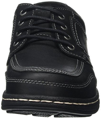 Hush Puppies Volley Victory, Derbys Homme Noir (Black)