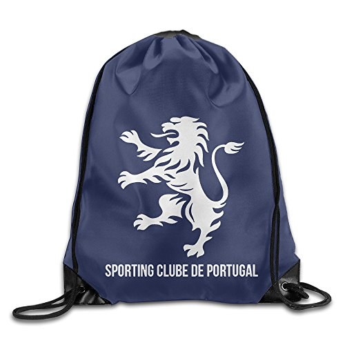 CYSKA Custom Sporting Clube De Portugal Trendy Drawstring Backpack White (Ratchet Costume)