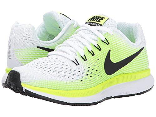 Nike - Zapatillas de Material Sintético para niño blanco WHITE/VOLT