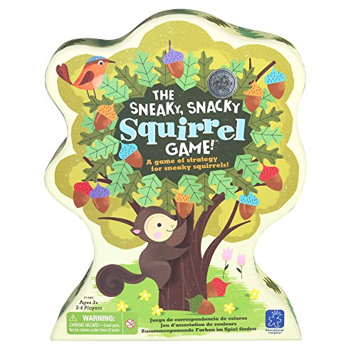 Educational Insights The Sneaky, Snacky Squirrel Game -
