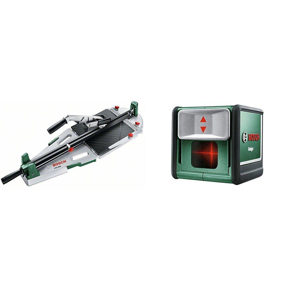 Bosch Fliesenschneider PTC 640 (Fliesenstä rke max.: 12 mm, Schnittlä nge max.: 640 mm, Diagonalschnittlä nge max.: 450 mm, Karton) 0603B04400