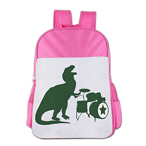 Kanduquyi T-Rex Rocking Kids' Backpacks Cute Children Backpack Schoolbags For Boys And Girls - Leash T-rex Products