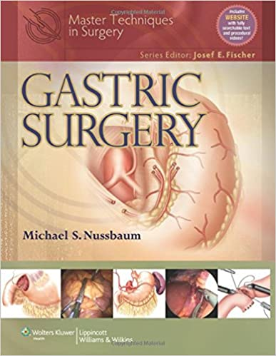 Master Techniques In Surgery Gastric Surgery 9781451112979