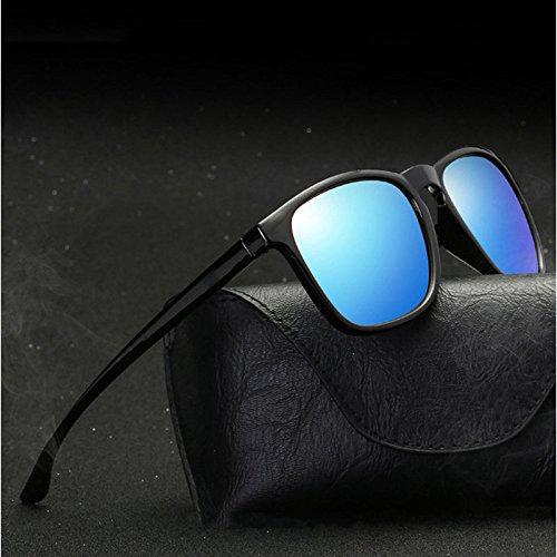 Cuadradas Marco Irregular Sol E De Ciclismo Hombre Ocasionales Gafas Color Polarizadas GUOHONG D De Colores De Película Gafas para De Gafas Moda CX Gran Moda De De Sol xAngIq