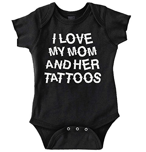 Love Mom Her Tattoos Cute Baby Clothes Idea Funny Romper Bodysuit for $<!--$13.99-->