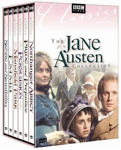 Jane Austen Collection (Sense & Sensibility / Emma / Persuasion / Mansfield Park / Pride & Prejudice / Northanger Abbey) by PBS