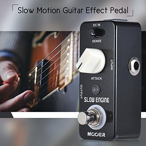 (Kalaok SLOW ENGINE Slow Motion Guitar Effect Pedal True Bypass Full Metal)