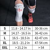 Mava Sports Knee Support Sleeves (Pair) for Joint Pain and Arthritis Relief, Improved Circulation Compression – Effective Support for Running, Jogging,Workout, Walking, Hiking and Recovery