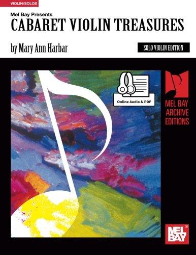 Download Cabaret Violin Treasures/ Solo Violin (Archive Edition) PDF