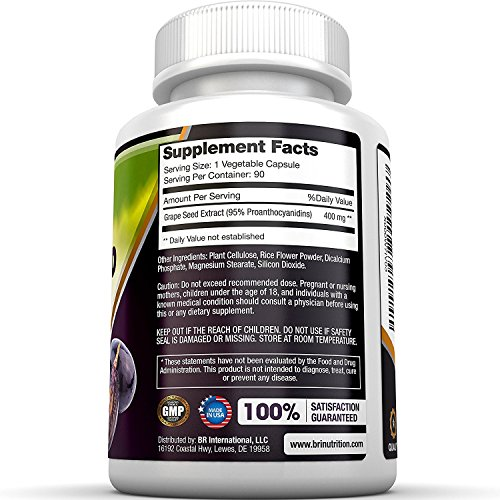 Buy grapeseed extract capsules 400mg