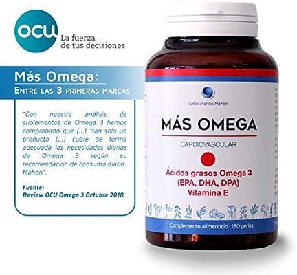 Mahen Complemento alimenticio a base de ácidos grasos Omega 3 ...