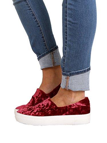 J / Slides Engel Sneaker Bordeauxrood