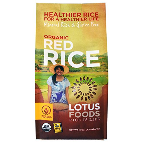 (Lotus Foods, Organic Red Rice,15-Ounce (Pack of 6))
