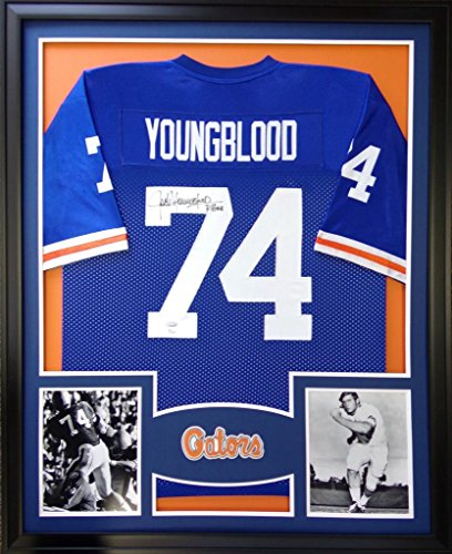 Used, Jack Youngblood Framed Jersey Signed JSA COA Autographed for sale  Delivered anywhere in USA