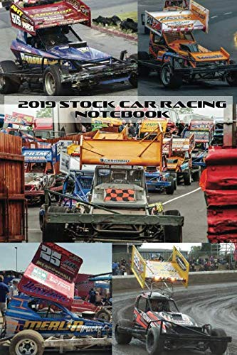 2019 Stock Car Racing Notebook: 120 pages, lined paper, paperback ()