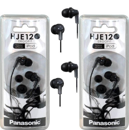 Panasonic RPHJE120 Ear Headphone Black product image