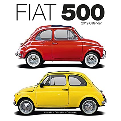 Calendario 2019 Fiat 500 - Coche Collection - Coche de ...