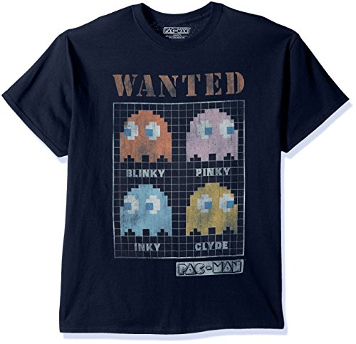 Pac-Man Ghosts Wanted Blinky, INky, Pinky, Clyde T-shirt