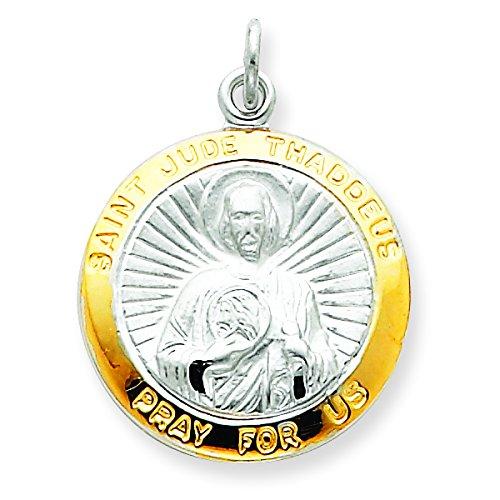 Sterling Silver Saint Jude Thaddeus Medal