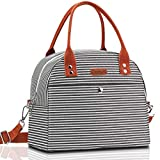 Lunch Bag, Mokaloo Insulated Lunch Box for Women, Multi-functional...